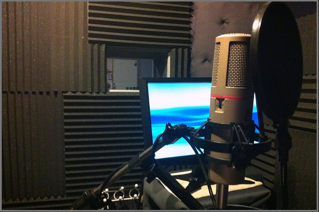 audio studio booth